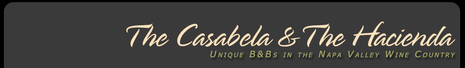 The Casabela and The Hacienda : Unique Bed and Breakfasts in the Napa Valley Wine Country