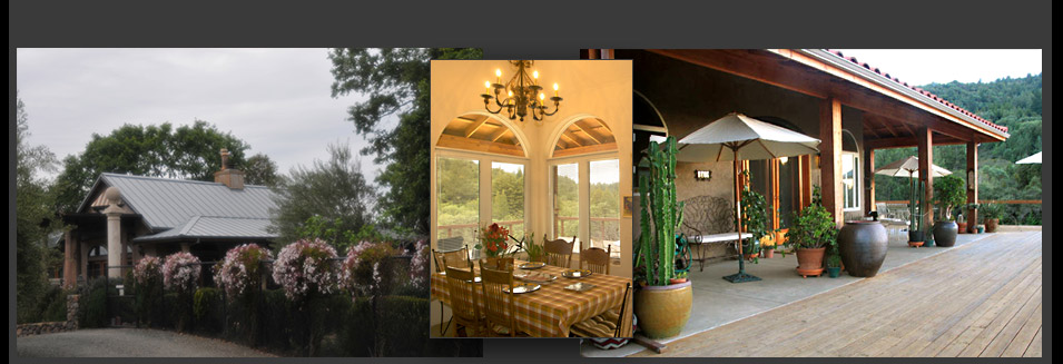 Photos of these 2 bedroom, 2 bath private, gated villa vacation rentals in the Napa Valley Wine Country